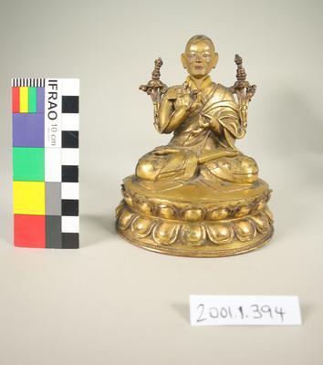 Bronze Buddhist figurine