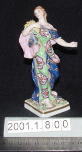 Figurine of a woman