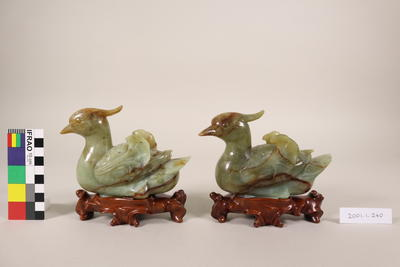Ornaments: ducks (pair)