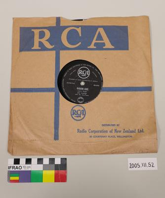 RCA Record: with Sleeve