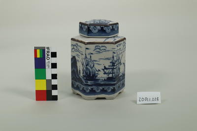 Jar, lidded