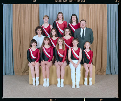 Negative: Canterbury Trampolining Team 1992