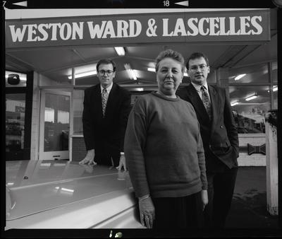 Negative: Weston Ward And Lascelles Staff