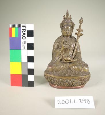 Bronze Padona Sambhava figurine
