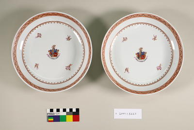 Armorial dishes