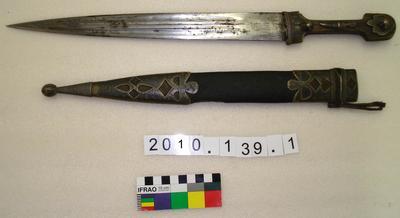 Dagger (kindjal) and scabbard