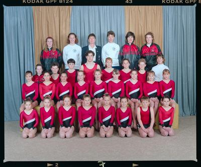 Negative: Canterbury Junior Gymnastics 1992