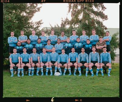 Negative: Burnham Camp Rugby Team 1992