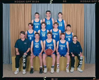 Negative: CBHS U16 Basketball 1992
