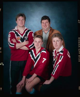 Negative: Nixon Family Sport Portrait