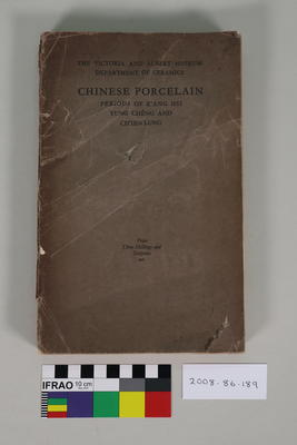 Book: Guide to the Later Chinese Porcelain periods of K'Ang Hsi, Yung Cheng and Ch'ien Lung