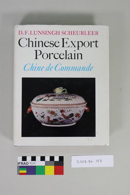 Book: Chinese Export Porcelain/Chine de Commande