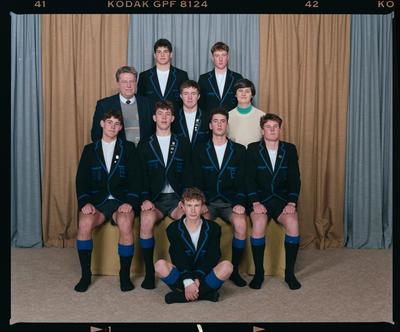 Negative: CBHS U19 Rowing Eight 1992