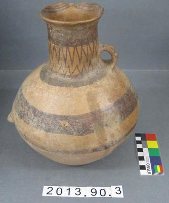 Urn: Neolithic Painted Earthenware