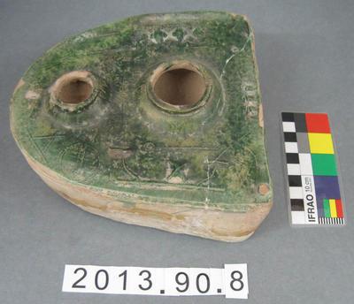 Mortuary Model Stove: Han Dynasty  Earthenware