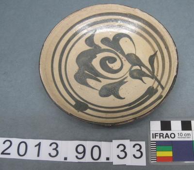 Dish: Sung [Song] Dynasty,  Cizhou Earthenware