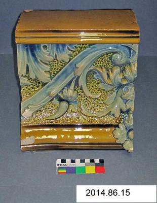 Ceramic Tile: Wilcock and Co Ledge Piece