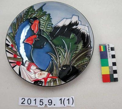 Plate: Takahe