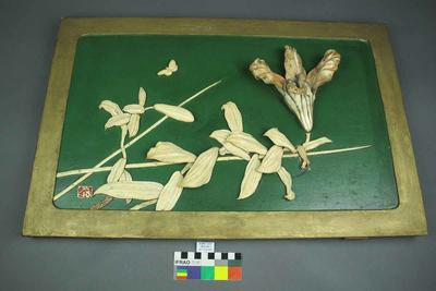 Panel: Floral Group in Ivory