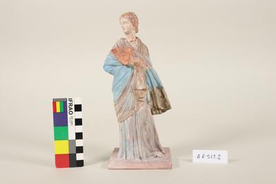 Figurine: Woman with Fan