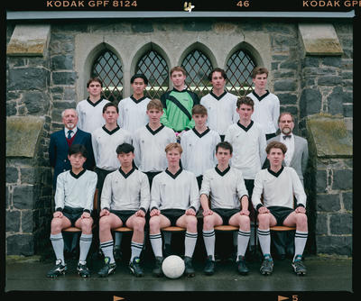 Negative: Christ's College Soccer 1992