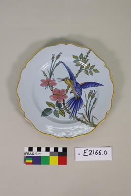 Plate: Faenza Ceramic