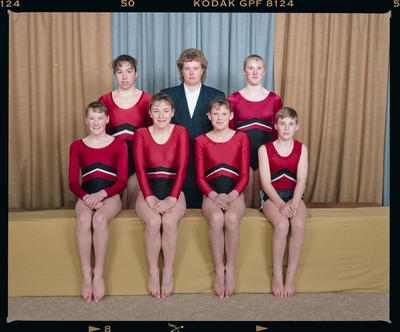Negative: Canterbury Gymnastics Senior Nationals Team 1992