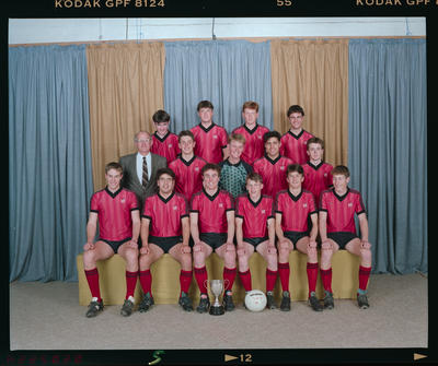 Negative: St Bede's 1st XI Soccer 1992