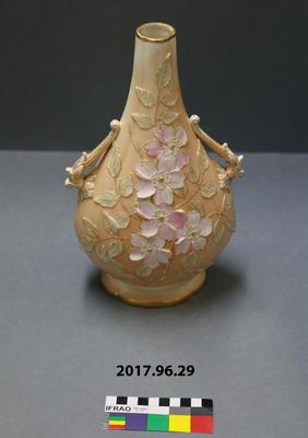 Vase: Royal Worcester Locke & Co Decorated Vase