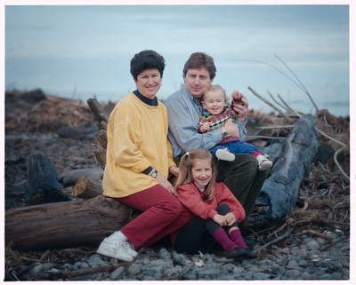 Negative: Bruce Family Portrait