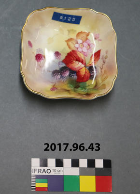 Small Bowl: Royal Worcester with Fruit