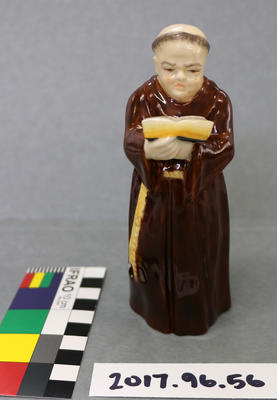 Candle Snuffer: Royal Worcester Monk