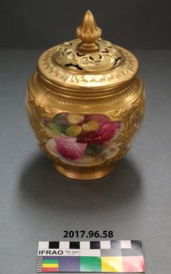 Pot Pourri Jar: Royal Worcester