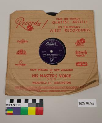 Capitol Record: with Sleeve