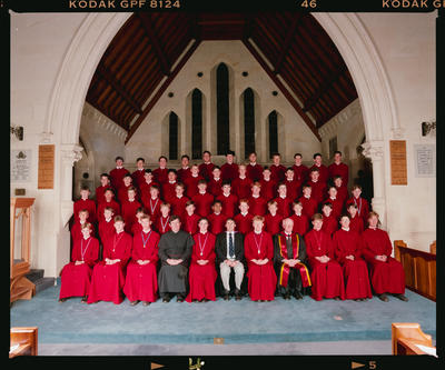 Negative: Christ's College Chapel Choir 1992