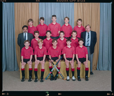 Negative: Canterbury Hockey Hatch Cup Team 1992