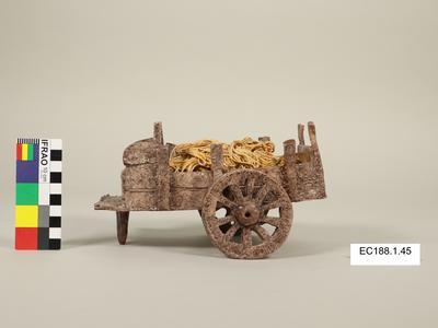 Figurine, hay-wagon