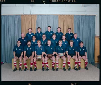 Negative: Burnside Rugby Senior A 1992