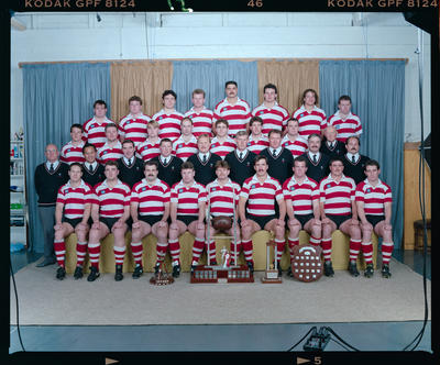 Negative: Burnside Rugby Senior B 1992
