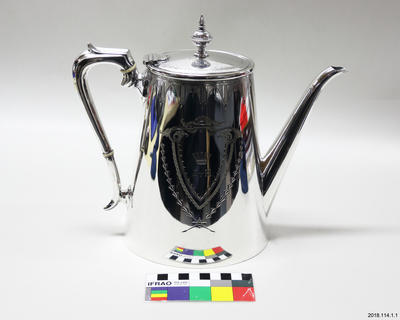 Silver Tea and Coffee Service: Julius von Haast