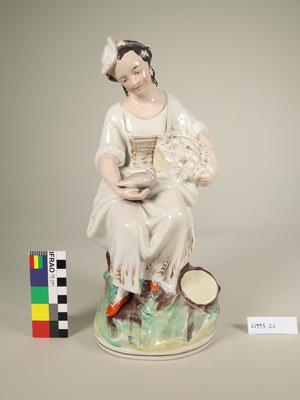Figurine, Seated Female