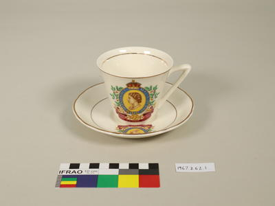 Coronation Souvenir Cup and Saucer
