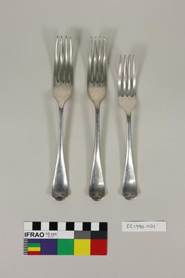 Dinner forks; Early 20th Century;