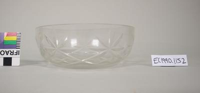 Glass jam dish