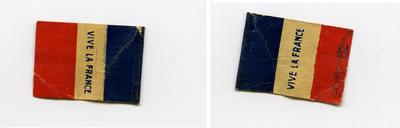 Miniature Tricoleur Flag