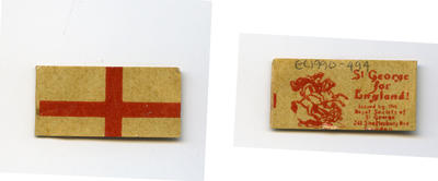 Miniature Cross of St. George Flag