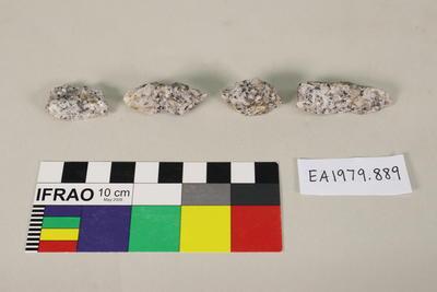 Granite tomb, fragments