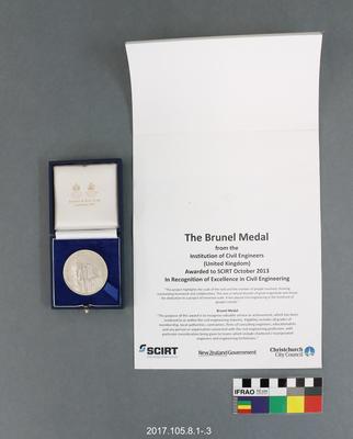 Medal: The Brunel Medal
