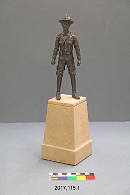 Maquette: Henry James Nicholas, VC, MM