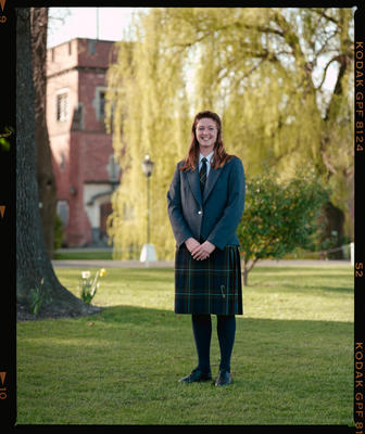 Negative: Unnamed Girl St Andrews College